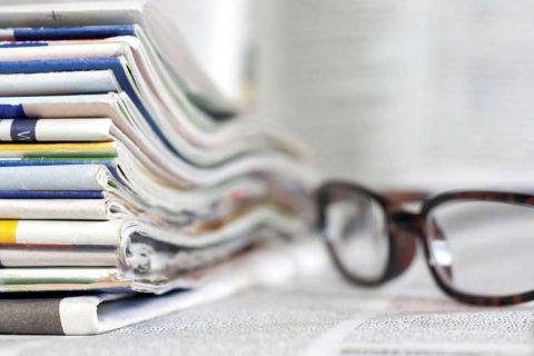 Organizzare una rassegna stampa di quotidiani